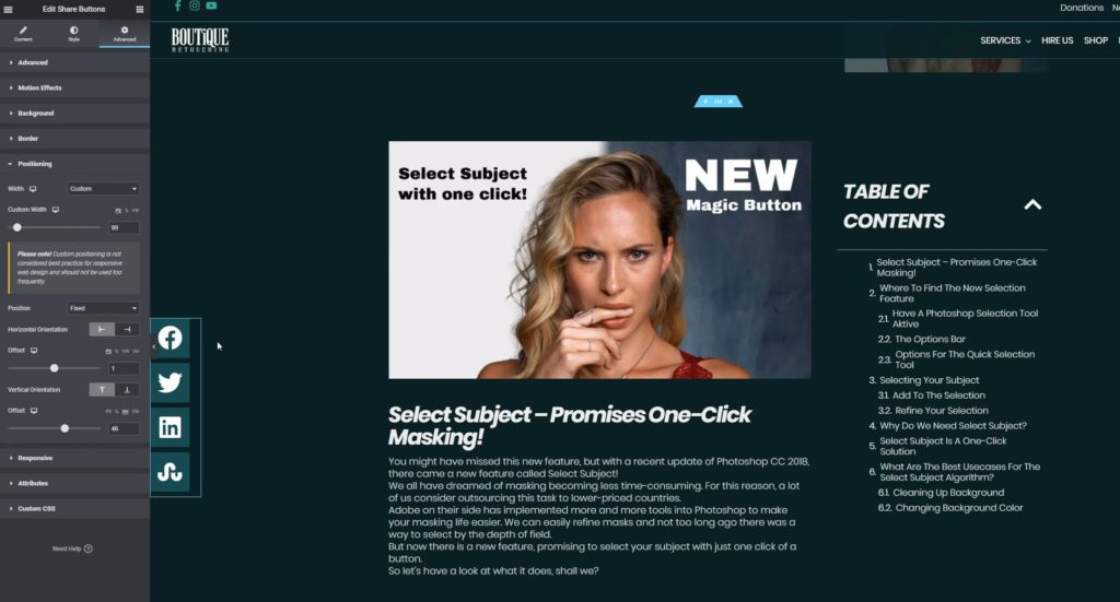 HAGER MEDIA change-custom-width-of-floating-bar-1024x551 Online Marketing & Inbound Blog [de]