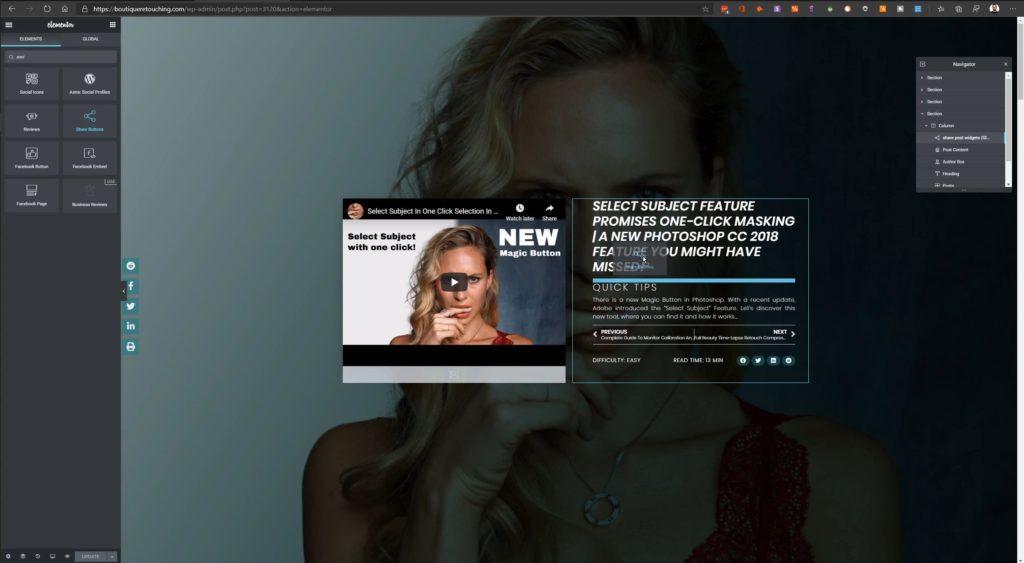 HAGER MEDIA elementor-social-buttons-1024x563 Schwebende Share Button Leiste in deinen Wordpress Posts einbinden How To's [de]  Wordpress Elementor