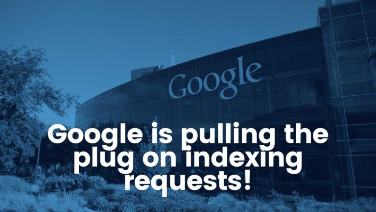 indexing requests,request indexing,indexing requests are currently suspended